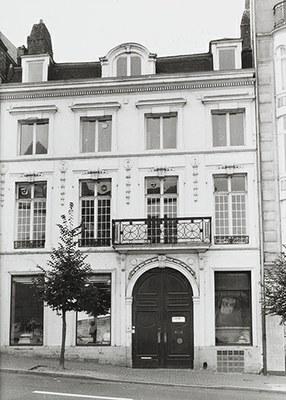 Gevel van Stormstraat 9 te Brussel