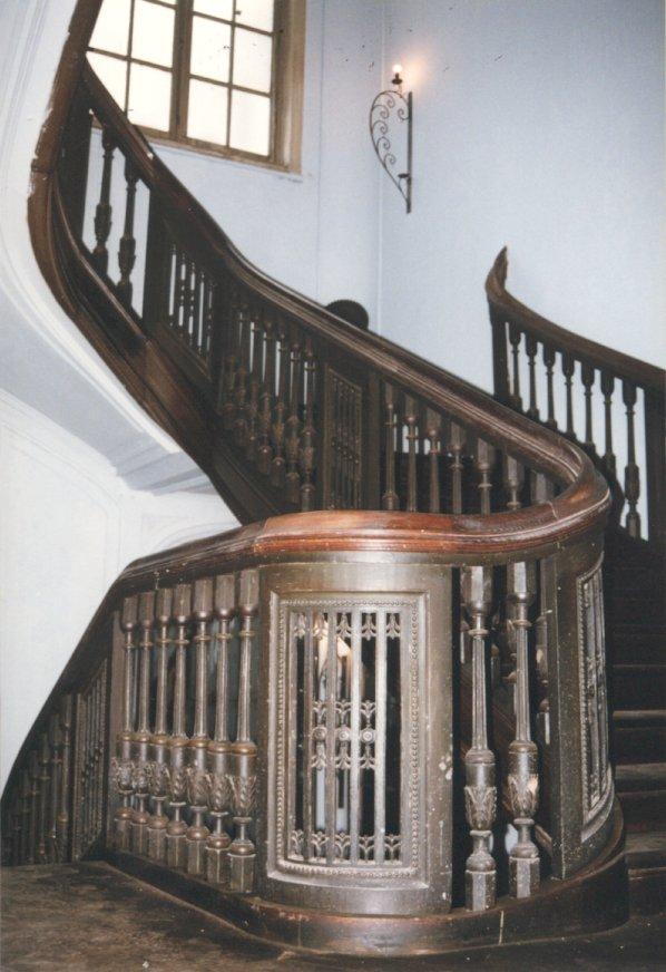 De 18de-eeuwse eretrap in 2002. © urban.brussels