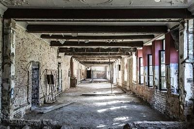 De voormalige kapittelzaal tijdens de werf - © Urban.brussels