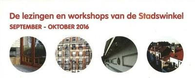 Lezingen en workshops SW 2016