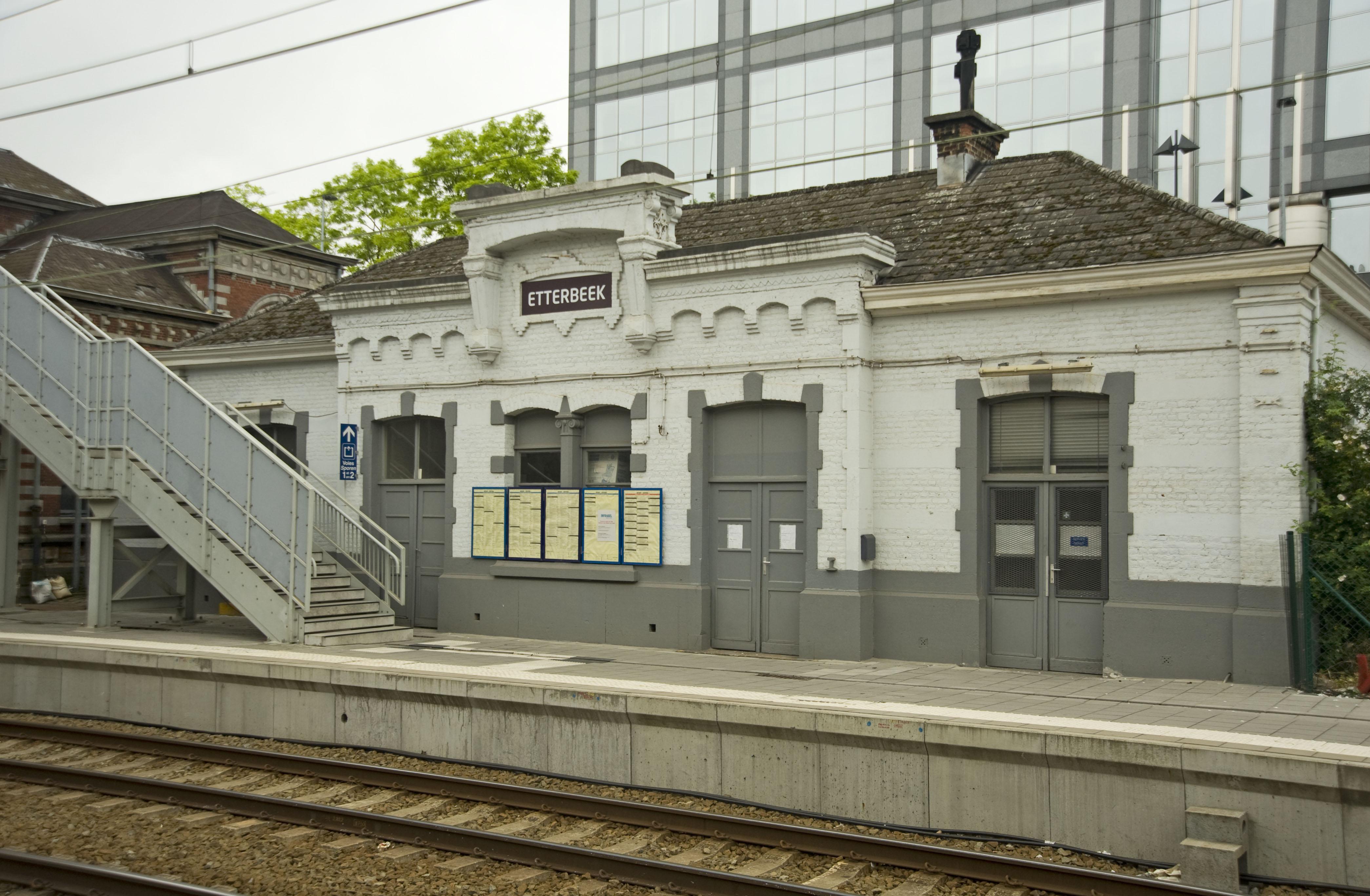 Bescherming station van Etterbeek