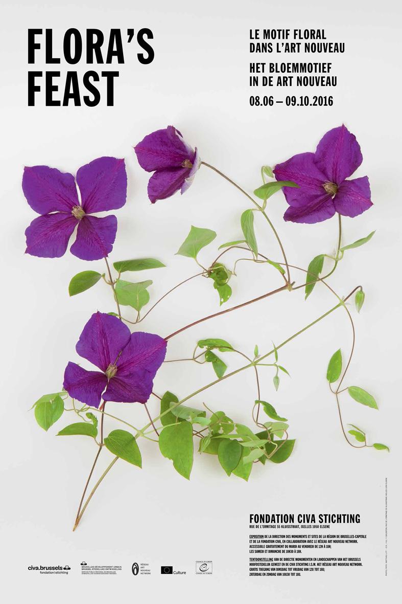 Flora's Feast - Het bloemmotief in de art nouveau