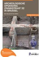 Archeologische opgraving Zinnikstraat 32 in Brussel
